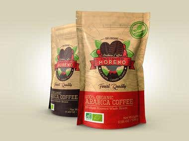 Coffee Farm Packaging Design