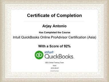 QBO Certification