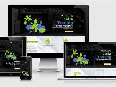 Brochure Style Website Design for SME