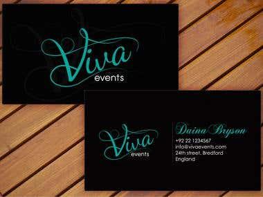 viva business card