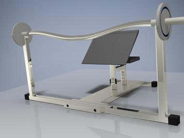 Gym Equipment Product Design