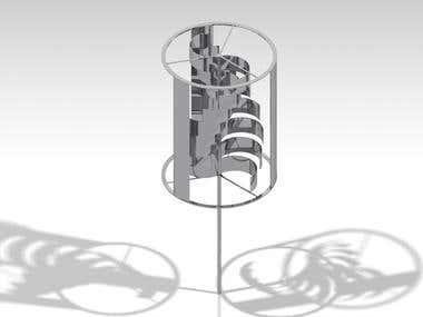 Vertical Axis Wind-turbine Design