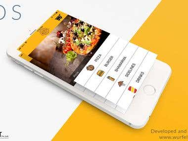 Pizza Mania, Website, Android and iOS App
