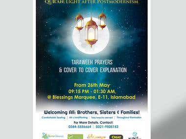 Poster Design for Ramadan Nights