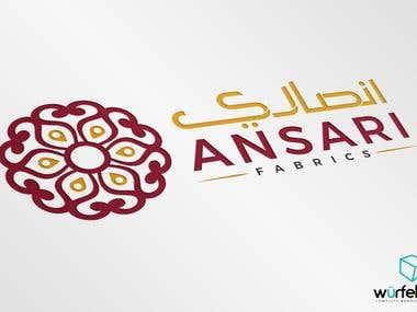 Ansari Fabrics Branding