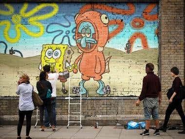 Photoshop Graffiti Art
