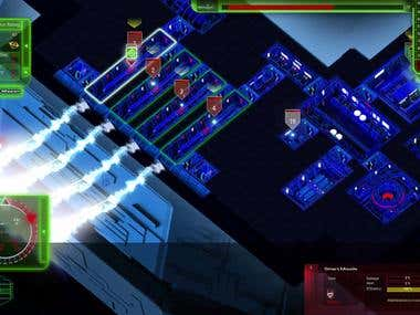 "Screenshot of the game ""Starship Corporation"""