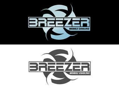 Air cooling system logo design
