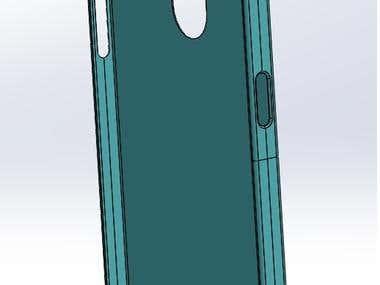 I Phone Case Design in Solid works