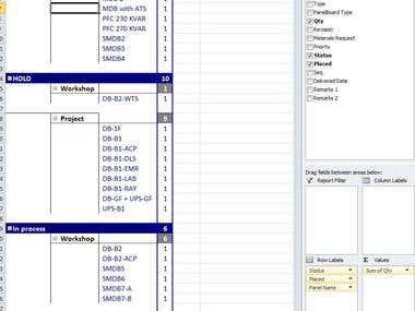 Excel, Pivotable