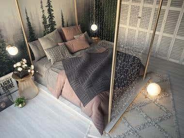 Special & DIfferent Bedroom Design