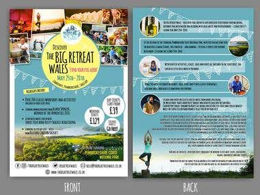 big retreat flyer