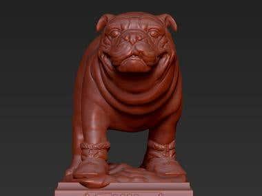 3D models of pets