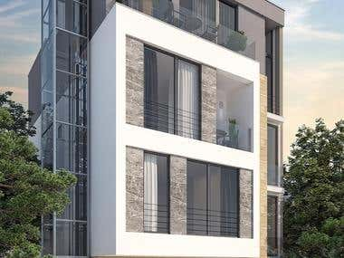 Office And Residential Building In Tivat