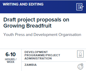 Draft Grant Project Proposal