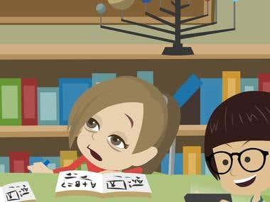 2D Animation Explainer video for Social Media