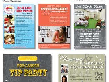 Brochure / flyer / poster design