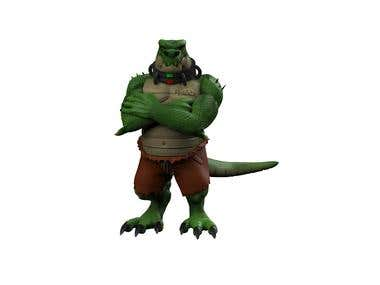 Croco character