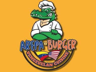 Arepa Burger Logo
