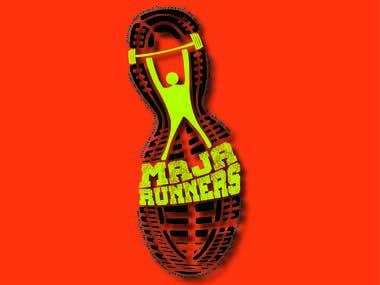 Maja Runners Logo