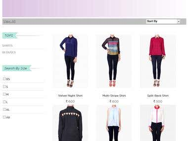 Shopshift.com e-Commerce Website.