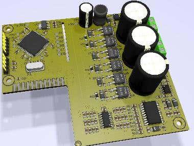 100 Watt BLDC motor Driver