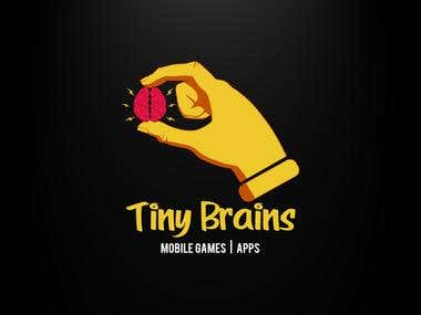 Tiny Brains (Mobile Apps | Games) Logo Design Work