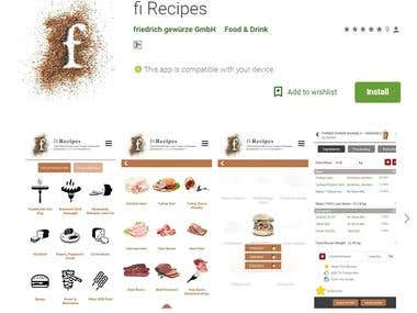 Android / IOS Application for online Food & drink Ordering