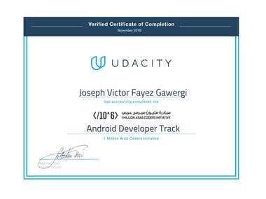 Android Developer Track in 1 Million Arab Coder