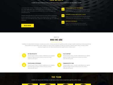 GRAPHIC DESIGN- WEB DESIGN LAYOUT