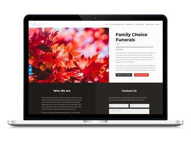 Website Design and Development (Funeral Services)