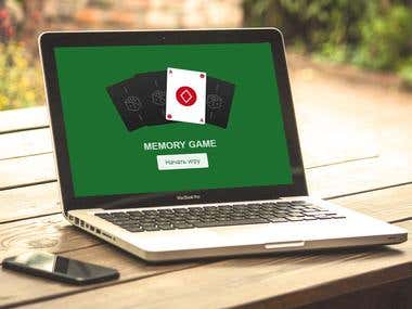 "Game ""Memory"" /*  */ JavaScript developer"