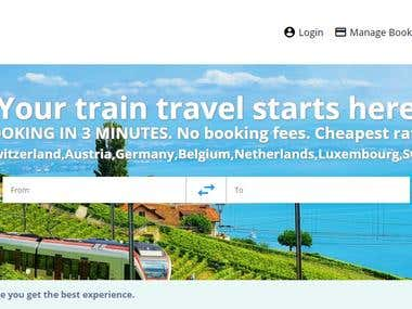 Website translation in multi languages