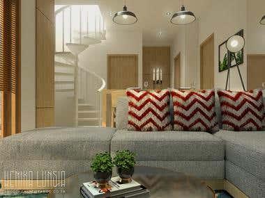 Apartment design.