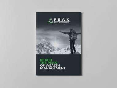Peak Wealth management brochure
