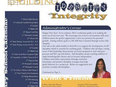 Logo and Newsletter