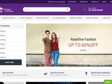 eCommerce Website with WordPress