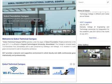 Collage website - www.hcet.gtc.ac.in