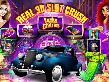 Real 3d Slot - Huge Jackpot Game