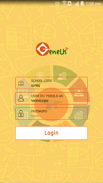 Android App for Education System