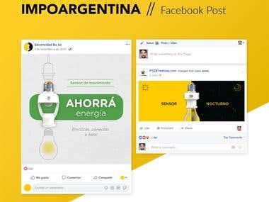 Impoargentina - Social Media Design