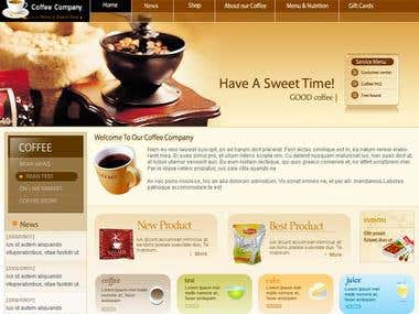 Coffee Shop Site