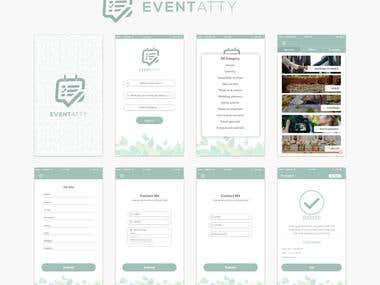 Event Planning UI/UX Design