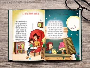 Kids Hindi Rhyme Book