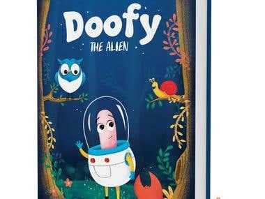 Kids Doofy Book cover design
