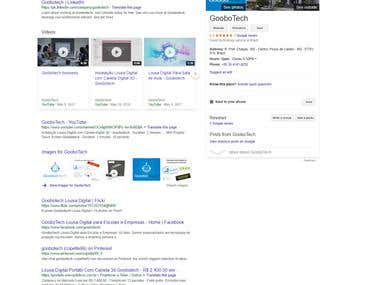 Ranking website on the top page of google