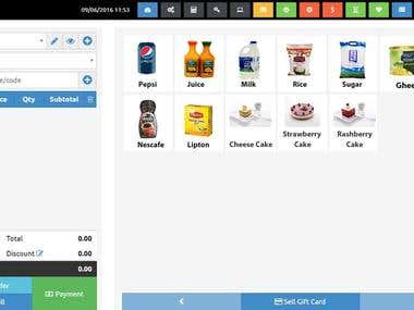 Point of Sale Applicaiton With Sync Module