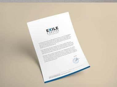 Exile Project - Logo Design