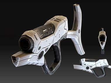 Gun design for game