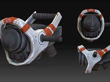 Scifi gun design